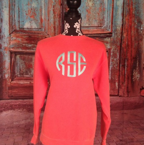 I Flew The Nest Monogrammed Pullover Image