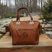 monogrammed purse