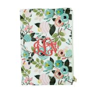Canvas_Pocket_Journal_Peach_Floral_20338_monogrammed_79d10f36-4a10-4058-a8b2-883958277db7