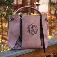 Lucy Hobo bag Dark Pink