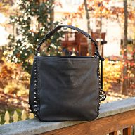 Pancy hobo bag Black