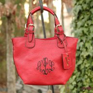 Monogrammed Ruth Mini Tote Bag in a Bag