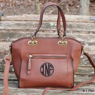 Monogrammed Purse Caitlin Brown