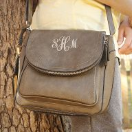 Crystal Cross body Olive Green