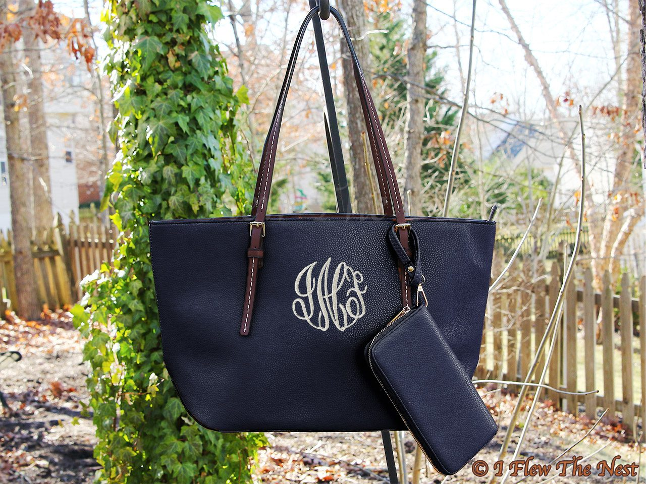 461b8a97c1c8e Caronline monogrammed purse with Wallet